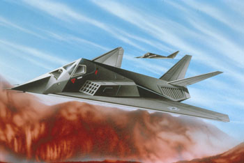 F-117  Stealth Fighter 1/144