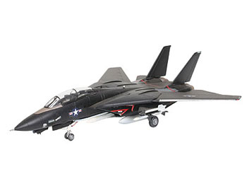 Model set F-14A Tomcat Black Bunny 1/144