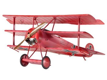 Model Set Fokker Dr.I Triplane 1:48