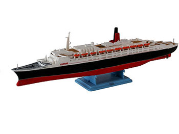 Model set 1:1200 Queen Elisabeth 2
