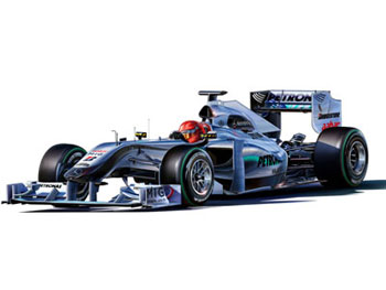 Model Set Mercedes-Benz GP W01 1:24