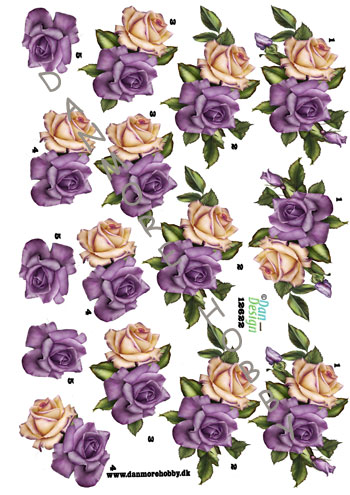 5bbf9dfd1e36 3D ark roser lilla creme