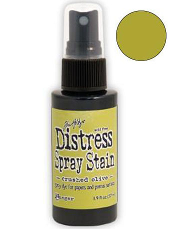 Dist Spray Stain - crushed olive