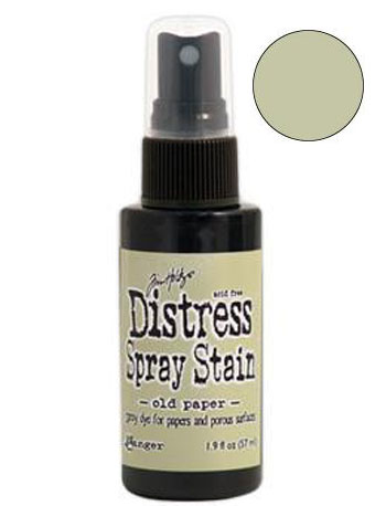 Dist Spray Stain - old paper