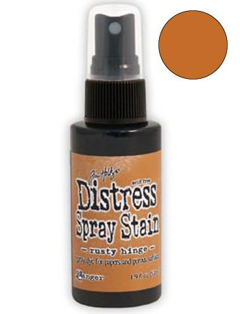 Dist Spray Stain - rusty hinge