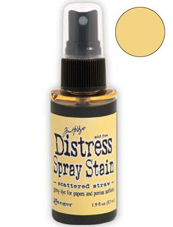 Dist Spray Stain - scattered straw