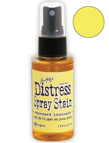 Dist Spray Stain - squeezed lemonade