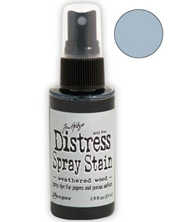 Dist Spray Stain - weathered wood