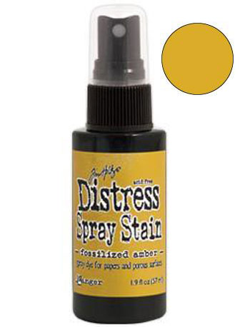 Dist Spray Stain - fossilized amber