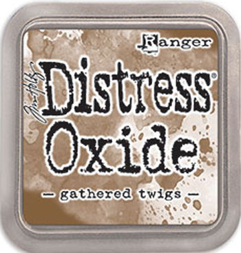 Stempel pude Distress Oxide Gathered Twi