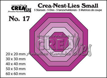 Dies Crealies Crea-Nest-Lies Small 17 CN