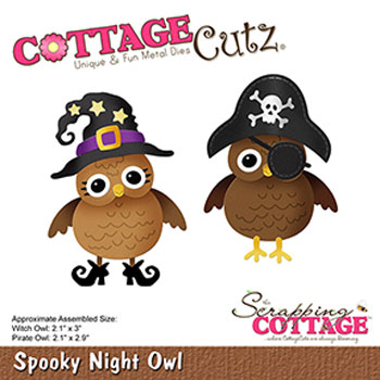 Dies CottageCutz CC-531 spooky night