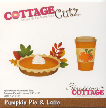 Dies CottageCutz CC-541 pie og Latte